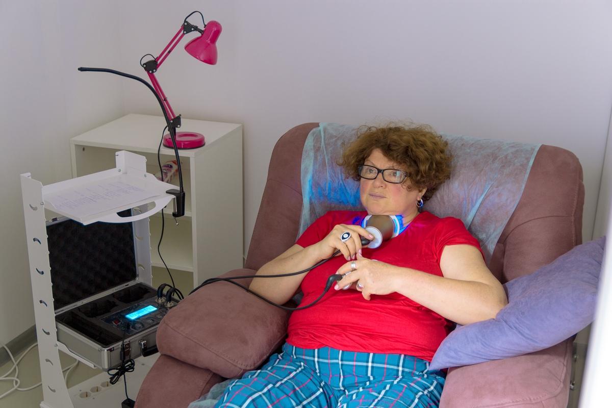 процедура лечения щитовидной железы, горла